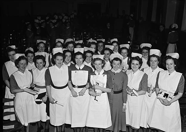 [Nurses' prize-day at Shrewsbury Royal Infirmary]
