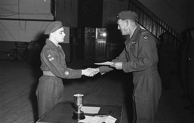 [Oswestry Cadet Presentation, 1949]