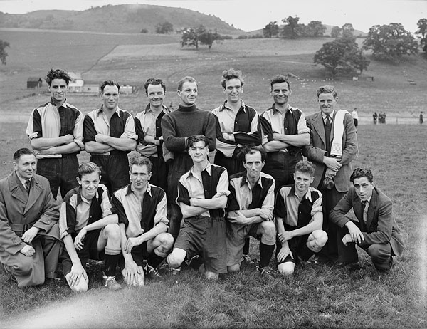 [Llanfyllin versus Oswestry football match at Llanfyllin]
