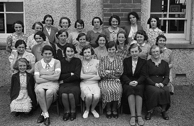 [Members of Pontrobert Women's Voluntary Service]