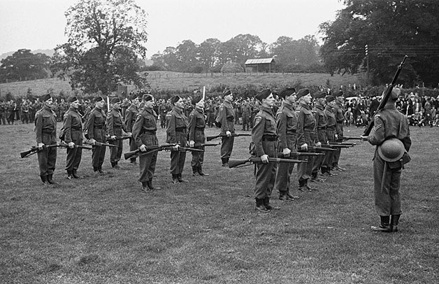 [Welshpool Home Guard demonstration and sports]