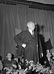 [Aneurin Bevan and his wife Jenny Lee in Corwen]