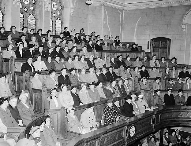 [Congregational Women's Union at Capel Goffa, Porthmadog]