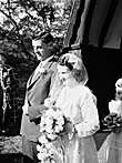 [Wedding of Olwen Evans, Dolanog, and Gough Evans, Newtown]