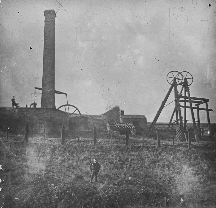 [Old Brymbo works, probably Cae Penty Colliery]