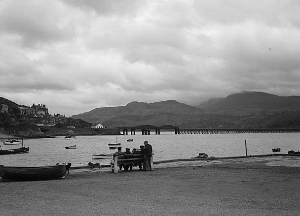 [Mawddach estuary at Barmouth]