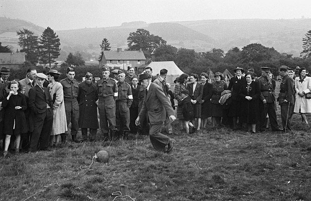 [Buttington Home Guard sports and fete]