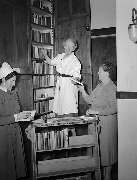 [St John's Library at Oswestry and District Hospital]