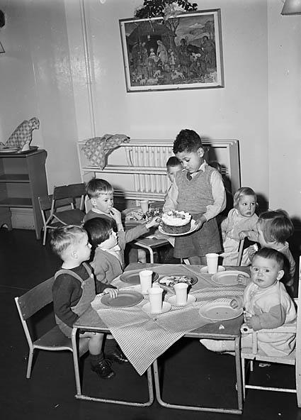 [Shrewsbury Barnado's Home children's Christmas party]