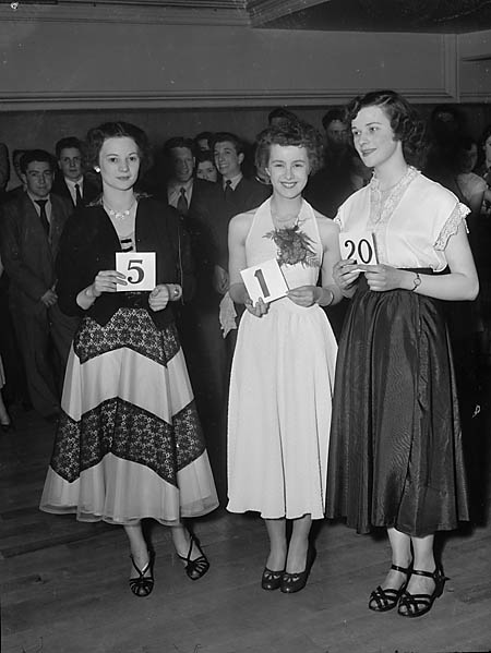 [Miss Spring Competition held at Shrewsbury Music Hall]