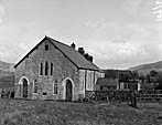 "[Capel Celyn Calvinistic Methodist chapel and the Plaid Cymru ""Keep Tryweryn"" Rally at Bala]"