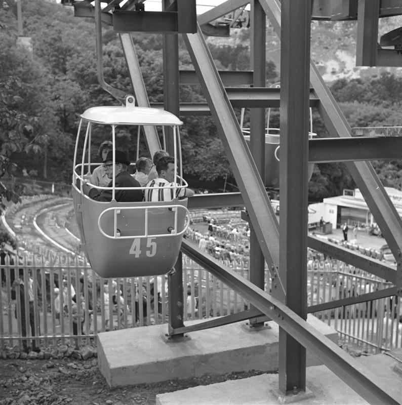 The Great Orme cable car, Llandudno