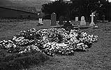 [The grave of one of Clement Davies' children]