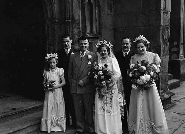 [Billington/Slater wedding at St Alkmond's, Shrewsbury]
