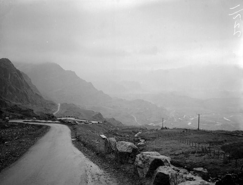 [Work starts of the hydro-electric scheme at Tanygrisiau]