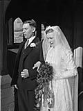 [Wedding of Dorothy Davies and Albert Froar at Llandysilio]