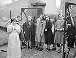 [Wedding of Ethel James and Claud Oliver West at Holy Trinity Church, Shrewsbury]