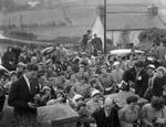 [A traditional Welsh country wedding organised by Llwyd o'r Bryn: Mona Griffiths and Esmor Owen]