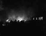 [Bonfire night at Oswestry's Recreation Ground]