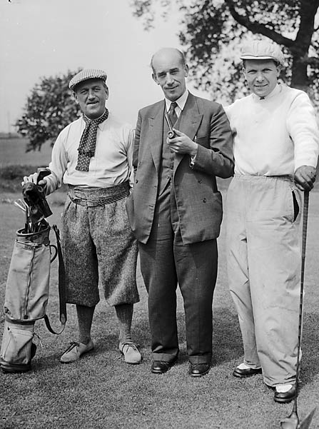 [Competitors in the BCA's Coronation Cup at Oswestry Golf Club]