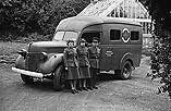 [Montgomeryshire ambulance and personnel]