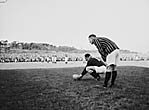 [Llanelli versus Springbok match at Stradey Park]