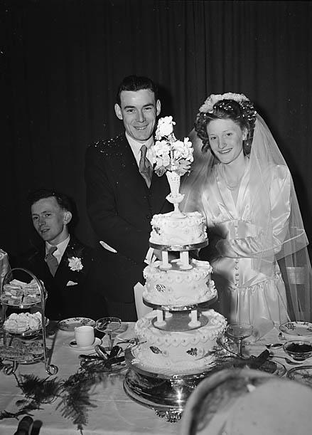 [Wedding of Gwyneth Breeze to Merfyn Jones, Llanfechain]