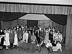 "[""Y Fuwch Goch"", a pantomime written by Maldwyn Jones and performed by senior pupils of Llanrhaeadr Modern School]"