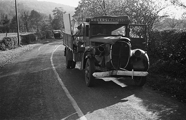 [Road accident at Meifod]