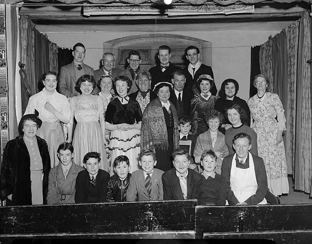 """[""""Christmas Carol"""" presented by the Wesley Guild in Beatrice Street Methodist Schoolroom, Oswestry]"""