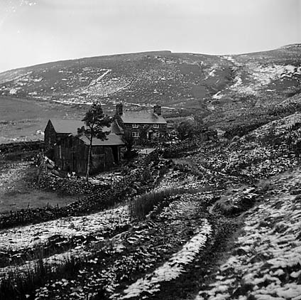 [Christmas at Twrmaen, on the mountains above Dolgellau, the remote home of Gwen, Evan and Robert Roberts]