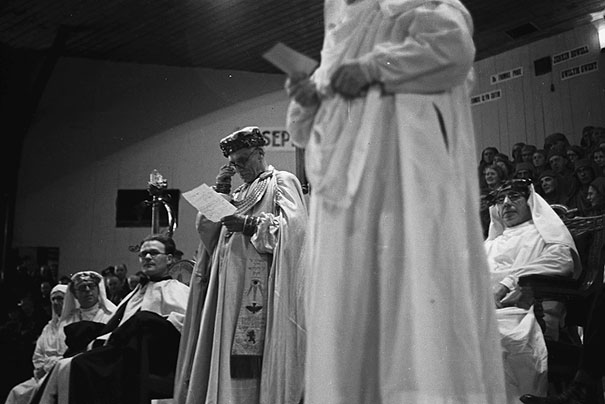 [Chairing of Geraint Bowen at the National Eisteddfod, Mountain Ash, 1946]
