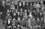[Groups of Ammanford schoolchildren, 1949]