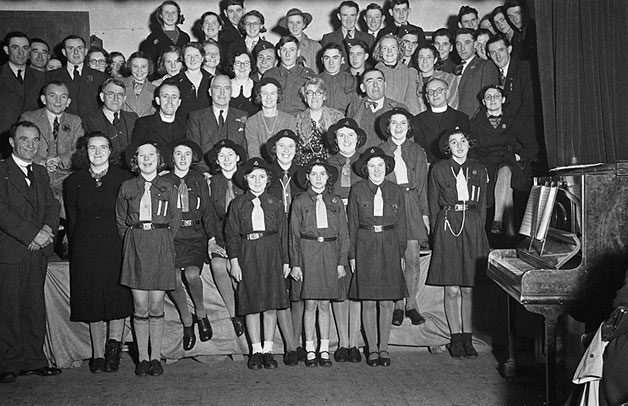 [Girl Guides from Montgomeryshire]