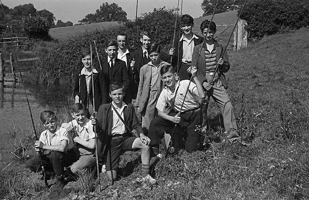 [Welshpool Boys' Club Angling competiion]