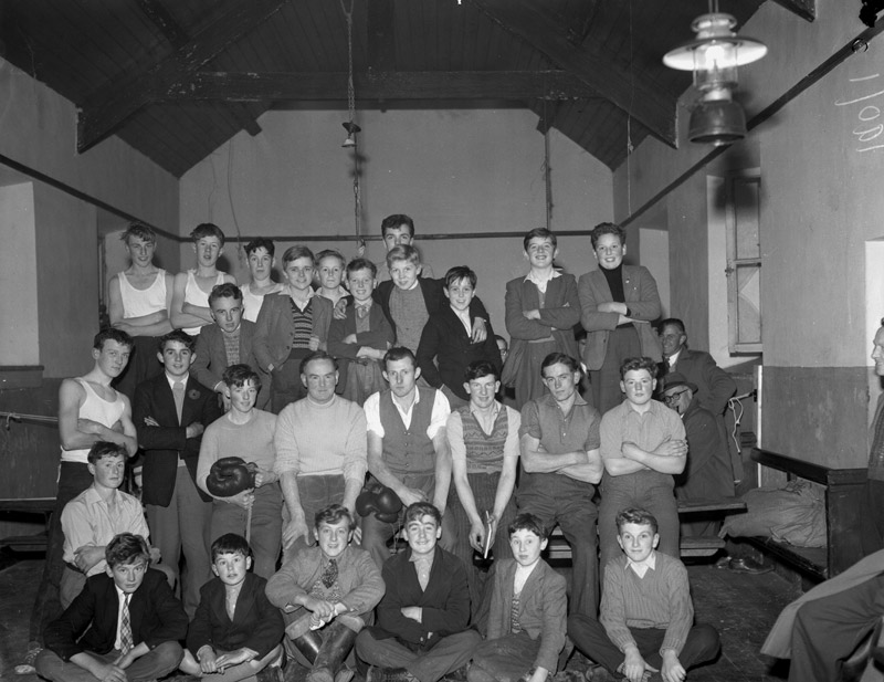 [A boxing school established in Llanarmon by W G Buchanan, an ex-air force boxing champion, and the Rev T D Williams]