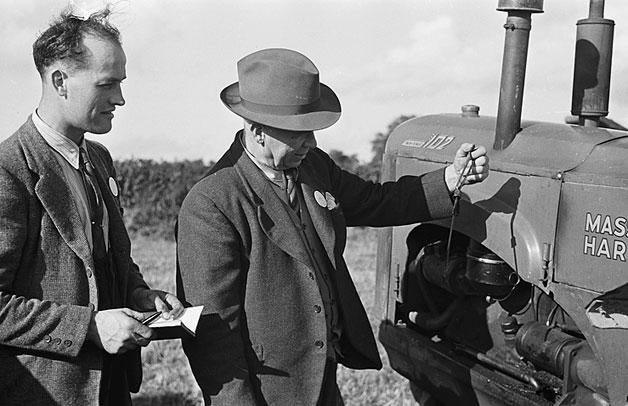 [Chu rchstoke YFC Ploughing Match at Sarn, Montgomeryshire]