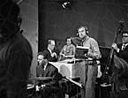 [Recording Welsh language programmes in Granada Studios, Manchester]