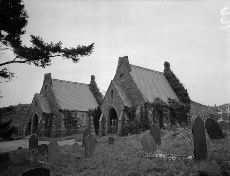 [Porthmadog Cemetery Chapels]
