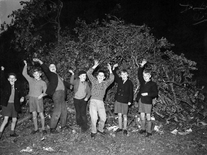 [Porthmadog bonfire night celebrations]