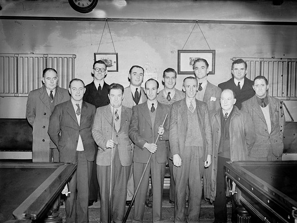 [Oswestry billiards team]
