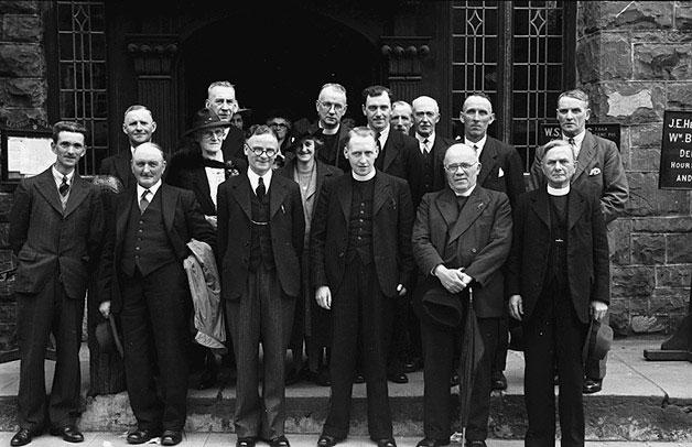 [Llanfair Caereinion Calvinistic Methodist Cymanfa Ganu at the Institute]