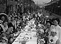 [Rhondda street party]