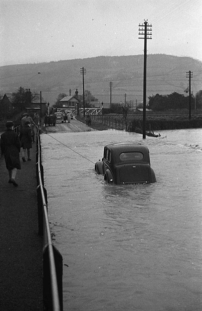 [Floods at Buttington, Montgomeryshire]