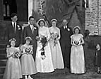 [Wedding of Margaret Ann Peever, Ellesmere, to John Foster Jeffels, Northallerton, at Welsh Frankton Parish Church]