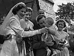 [Wedding of Margaret Ann Peever, Ellesmere, to John Foster Jeffels, Northallerton, at Welsh Frankton Parish Church]