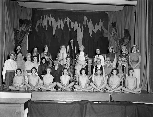 [Moreton Hall Girls' School Christmas play, Oswestry]