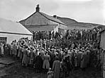 [Tryweryn locals, the last sale at Gwerngenau Farm and the beginning of the dam]