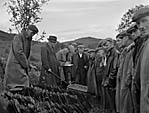 [Tryweryn locals, the last sale at Gwerngenau Farm and the beginning of the dam]