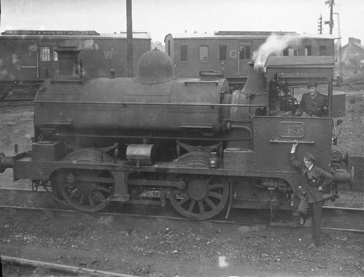 [Croesnewydd engine sheds, Wrexham]